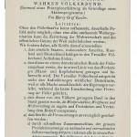 Harry Graf Kessler Richtlinien für einen wahren Völkerbund (Entwurf einer Prinzipienerklärung als Grundlage eines Aktionsprogramms),  Cranach Presse 1920, erste Auflage * 222 x 142 mm  Privatsammlung, Berlin
