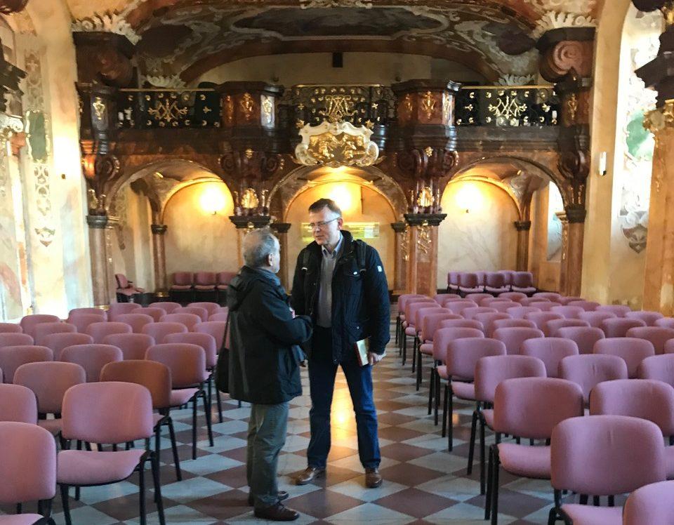 Breslau - Universität, Veranstaltung Kessler und Pilsudski, Prof. Ruchniewicz