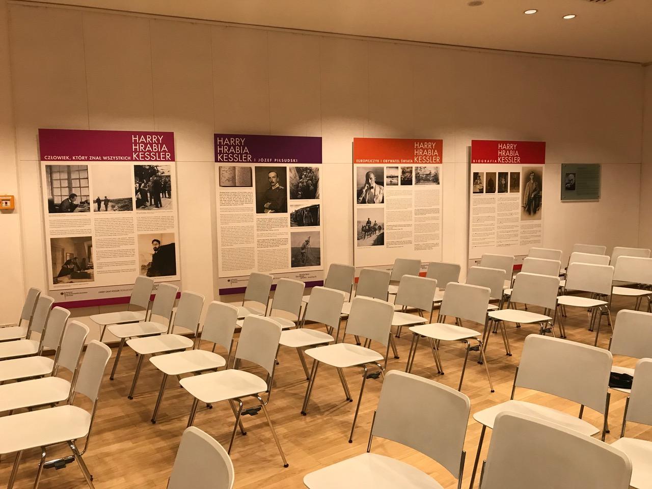 Warschau - Deutsche Botschaft Kesslerausstellung